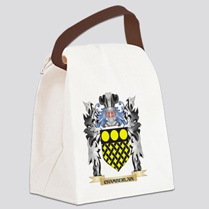 Chamberlain Coat of Arms - Family Canvas Lunch Bag