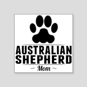 Australian Shepherd Mom Sticker