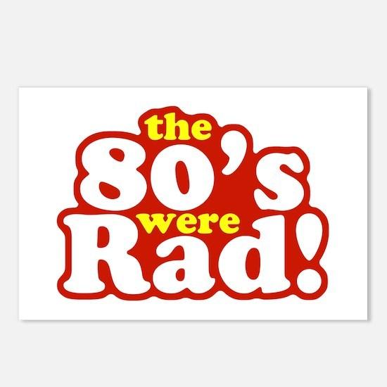 Rad Eighties Postcards (Package of 8)