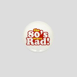 Rad Eighties Mini Button