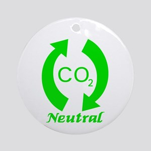 Carbon Neutral Ornament (Round)