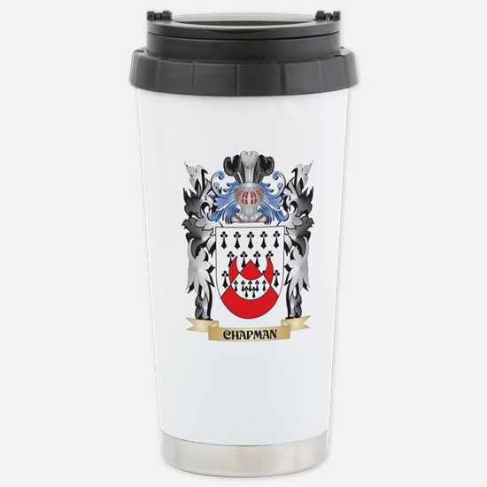 Chapman Coat of Arms - Stainless Steel Travel Mug