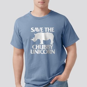 Save The Chubby Unicorn Mens Comfort Colors Shirt