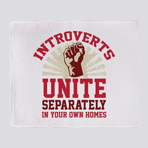 Introverts Unite Stadium Blanket
