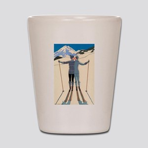 Art Deco by George Barbier Shot Glass