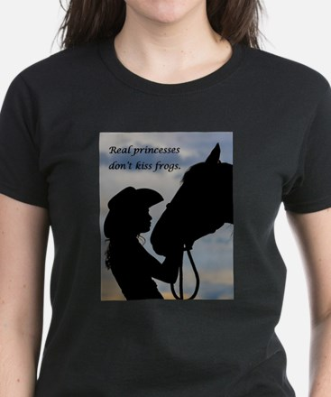 Real Princesses Don't Kiss Frogs T-Shirt