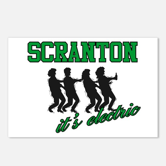 Scranton The Electric City Postcards (Package of 8