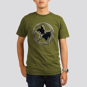 Silver Raven Pentacle T-Shirt