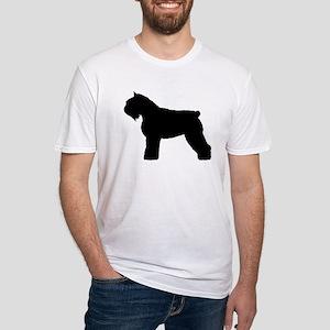 Bouvier des Flandres Dog Fitted T-Shirt