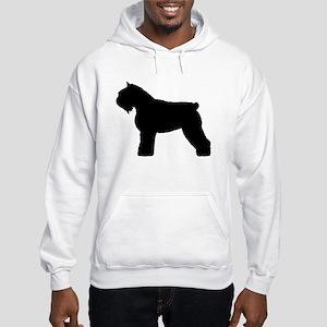 Bouvier des Flandres Dog Hooded Sweatshirt