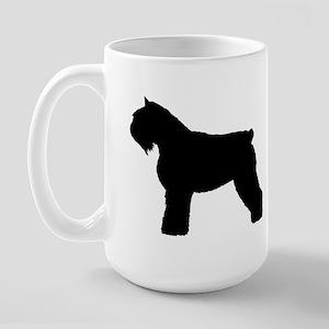 Bouvier des Flandres Dog Large Mug