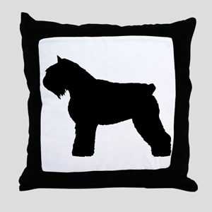 Bouvier des Flandres Dog Throw Pillow