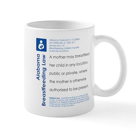 Breastfeeding In Public Law - Alabama Mugs