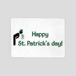 St Patricks Day 5'x7'Area Rug