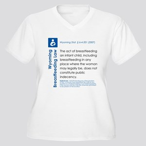 Breastfeeding In Public Law - Wyoming Plus Size T-