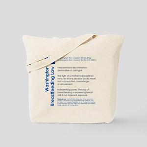 Breastfeeding In Public Law - Washington Tote Bag