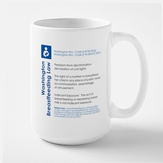 Breastfeeding In Public Law - Washington Mugs