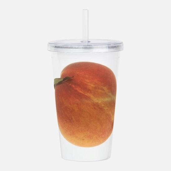 Georgia Peach Acrylic Double-wall Tumbler
