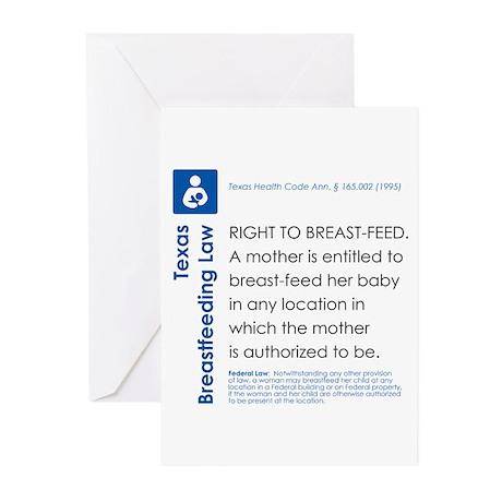 Breastfeeding In Public Law - Texas Greeting Cards