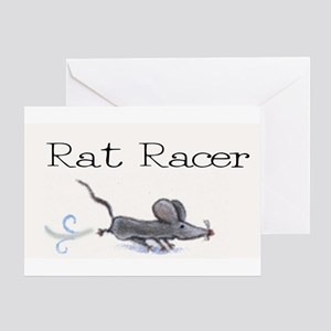 Rat Racer Greeting Card