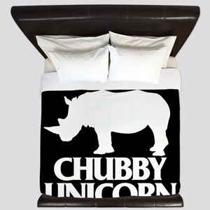 Save The Chubby Unicorn King Duvet