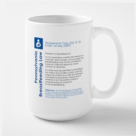 Breastfeeding In Public Law - Pennsylvania Mugs