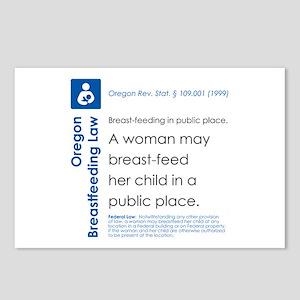Breastfeeding In Public Law - Oregon Postcards (Pa