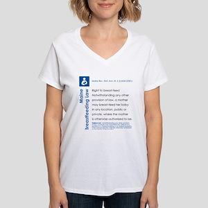 Breastfeeding In Public Law - Maine T-Shirt