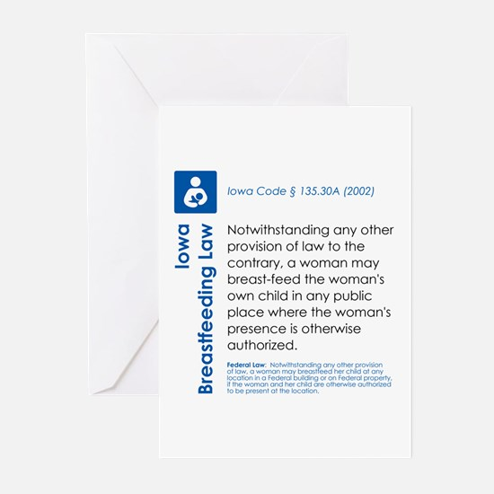 Breastfeeding In Public Law - Iowa Greeting Cards