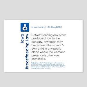 Breastfeeding In Public Law - Iowa Postcards (Pack