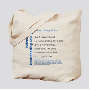 Breastfeeding In Public Law - Indiana Tote Bag