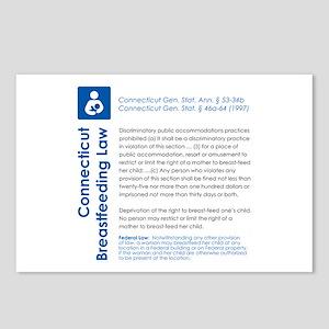 Breastfeeding In Public Law - Connecticut Postcard