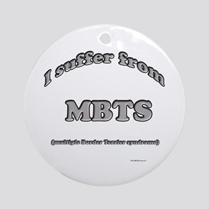 Border Terrier Syndrome Ornament (Round)