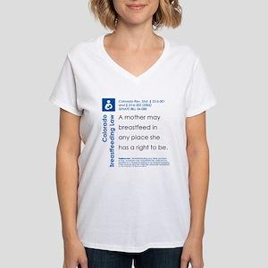 Breastfeeding In Public Law - Colorado T-Shirt