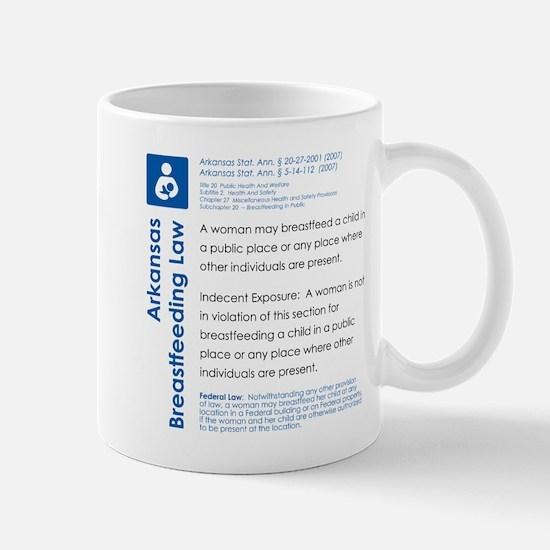 Breastfeeding In Public Law - Arkansas Mugs
