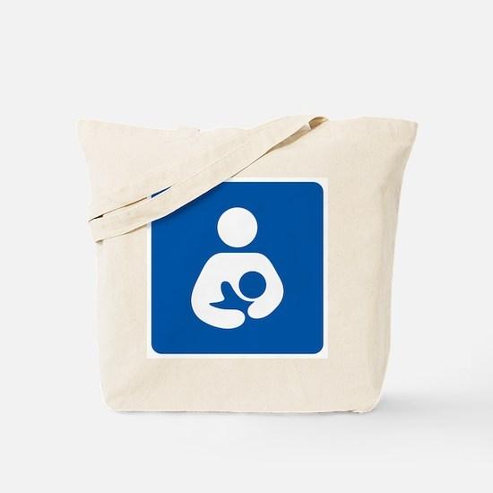 Breastfeeding Icon-High Quality Tote Bag