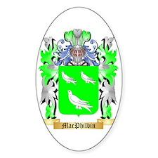 MacPhilbin Sticker (Oval)