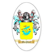 MacPhiel Sticker (Oval)