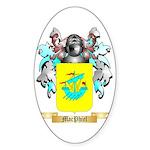 MacPhiel Sticker (Oval 50 pk)