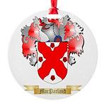 MacParland Round Ornament