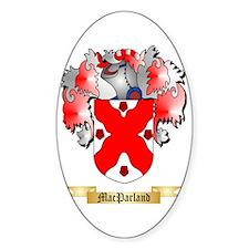 MacParland Sticker (Oval)