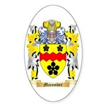Macomber Sticker (Oval 50 pk)