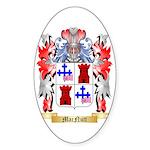 MacNutt Sticker (Oval 50 pk)