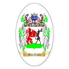 MacNulty Sticker (Oval)