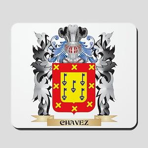 Chavez Coat of Arms - Family Crest Mousepad