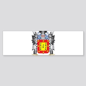 Chavez Coat of Arms - Family Crest Bumper Sticker