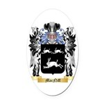 MacNiff Oval Car Magnet
