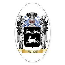 MacNiff Sticker (Oval)