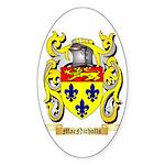 MacNicholls Sticker (Oval 50 pk)