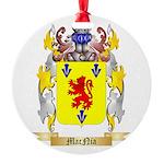 MacNia Round Ornament
